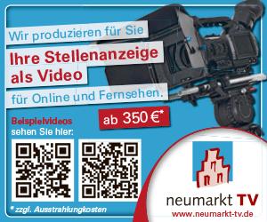 Neumarkt TV Stellenanzeige Video
